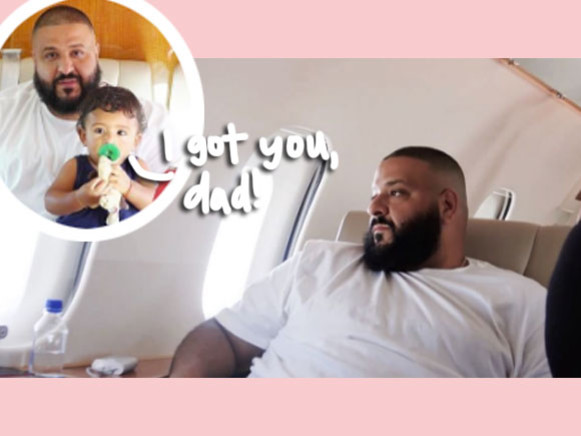 As You Can Imagine, DJ Khaled Flew For The First Time In Over 10 Years In The Most Extra Way Possible