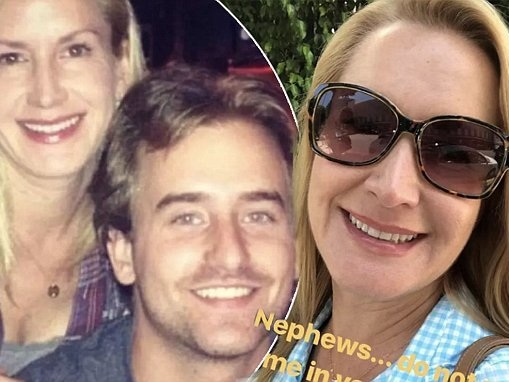 The Office's Angela Kinsey calls out her nephew over his Tinder profile