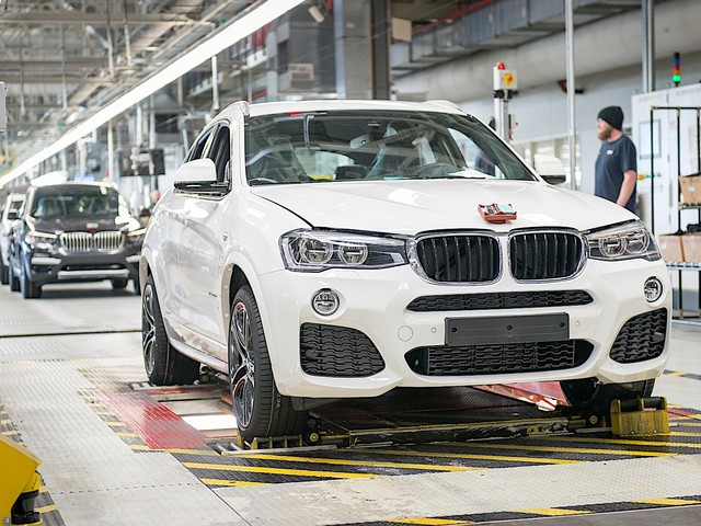 200,000th BMW X4 Rolls Off Assembly Line in Spartanburg