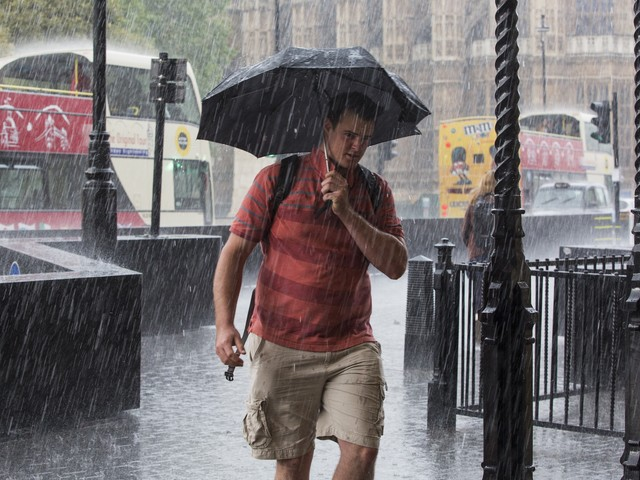 The rainiest day on record in UK