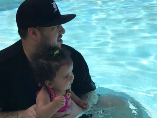 Rob Kardashian Has a Daddy/Daughter Day With Dream (PHOTO)