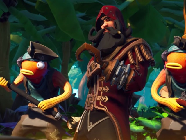 The first 'Fortnite' Season 8 update has arrived, bringing treasure maps, a new tournament format, and a ridiculous limited time mode
