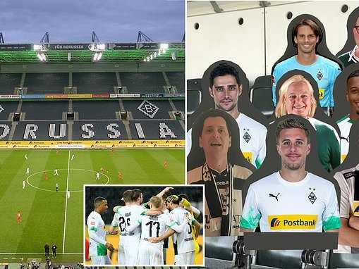 Borussia Monchengladbach supporters' group to fill stands with 50,000 PLASTIC cut-outs of real fans