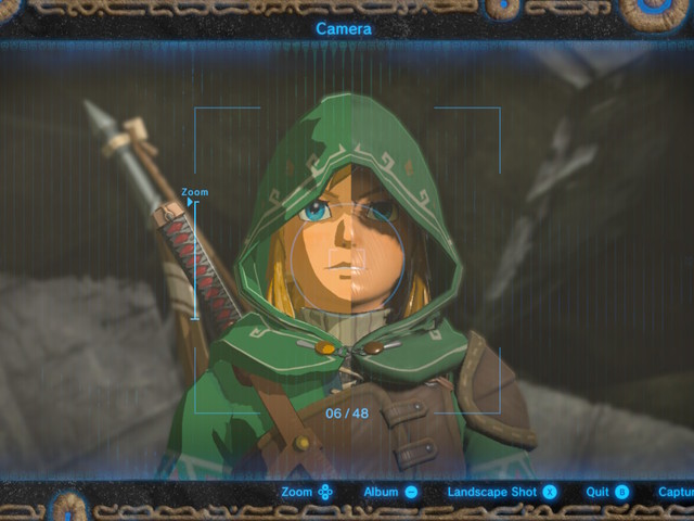 The Legend of Zelda: Breath of the Wild glitch strips Link of cel-shading effect