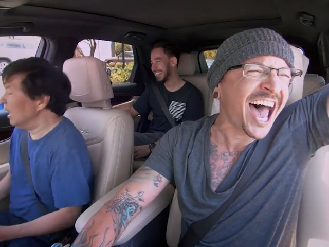 Chester Bennington's Carpool Karaoke Episode Has Been Released, And It Proves Depression Has No Face