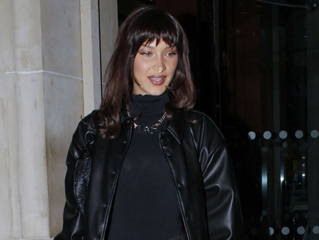 Bella Hadid Reveals New Razored Hair Makeover While Heading To Dior Fashion Show – Before & After Pics