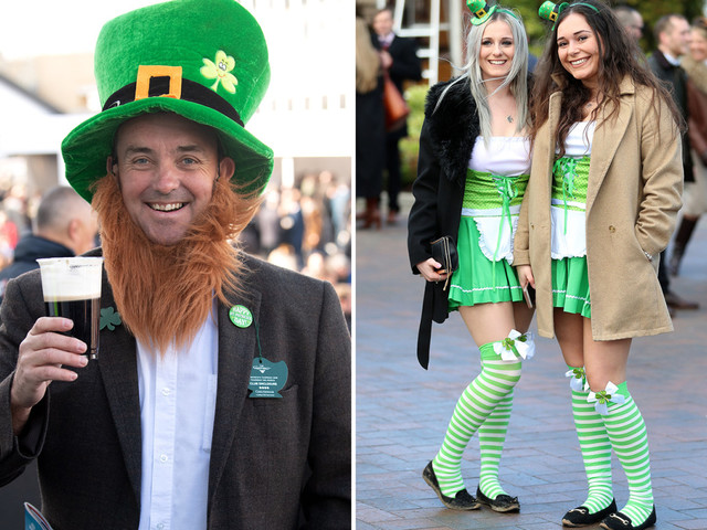 Cheltenham Festival punters hope for the luck of the Irish on St Patrick's Thursday at the races