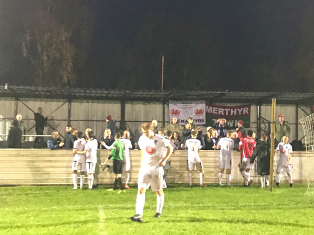15-Year-Old Goalie Named 'Man Of The Match' As Merthyr Town Get Thrashed 13-1 At Chesham United And Still Leave Pitch To Standing Ovation (Photos & Video)
