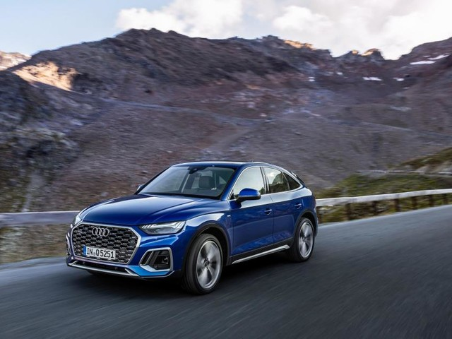 Audi's mid-sized SUV gets coupe-like styling with the Q5 Sportback