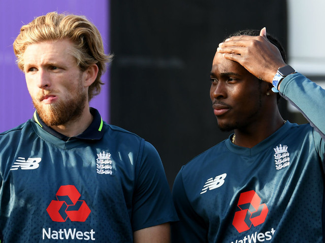 Cricket World Cup: England admit it was tough to axe David Willey for Jofra Archer