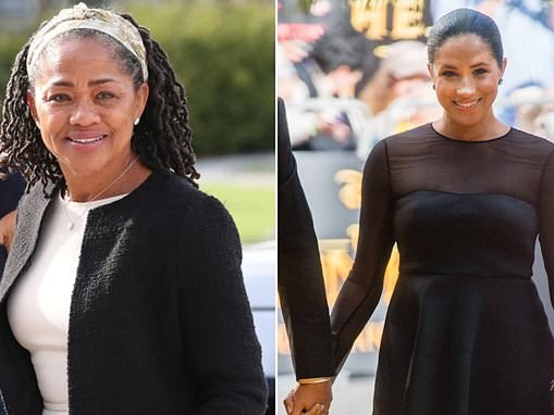 TALK OF THE TOWN: Is Doria the REAL power behind Meghan's throne