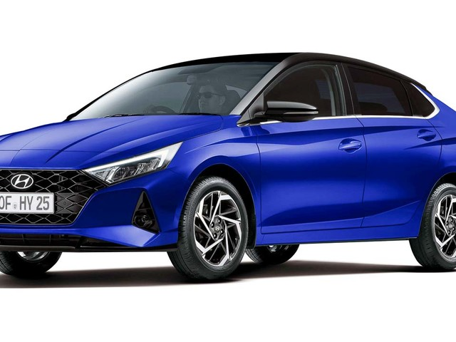 Next-Gen Hyundai i20 Rendered In A Sedan Format
