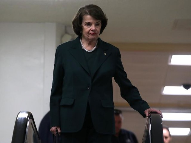 Dianne Feinstein Sees Possible Obstruction of Justice Case Against Trump on the Horizon