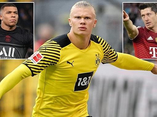 PSG 'will target Erling Haaland with Robert Lewandowski a back-up option' if Kylian Mbappe leaves