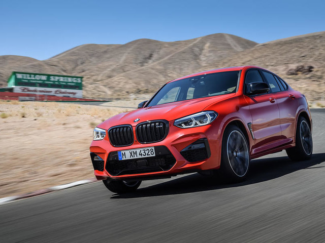 New BMW X3M and X4M get 503bhp Competition version