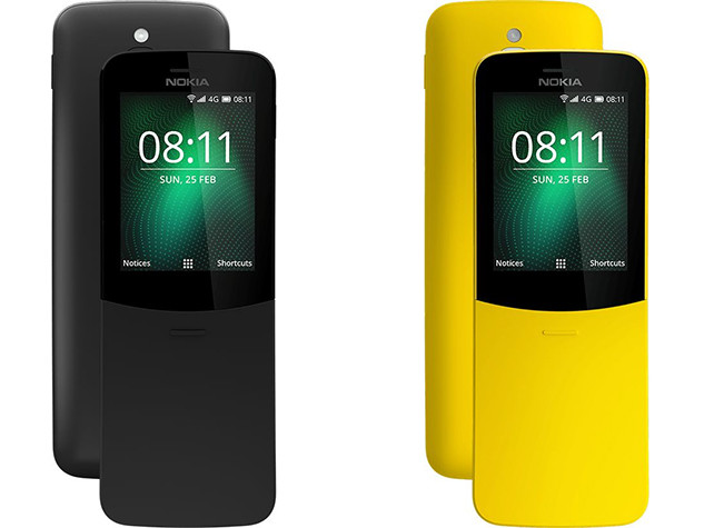 The Nokia 8110 4G Hands-On: A Banana Phone for 2018