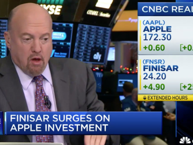 Apple didn't invest in Finisar (AAPL, FNSR)