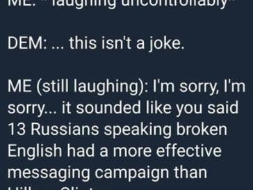 This isn't a joke!