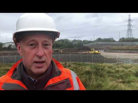 Watch: Update on Metro's temporary depot project in North Tyneside