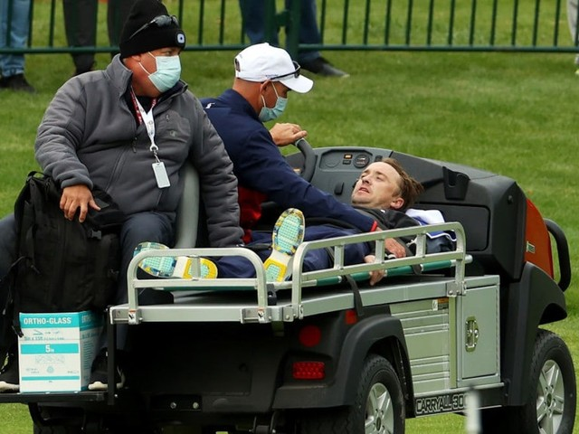 Tom Felton Assures Fans He's 'On The Mend' After Ryder Cup Collapse — Via Song (Video)