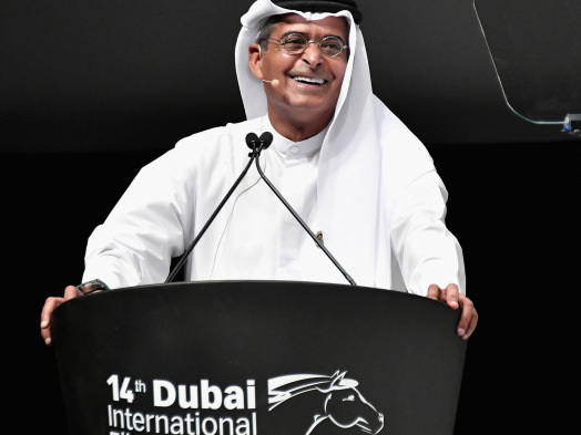Dubai: Festival President Abdulhamid Juma on Growing The Market and Opening to TV