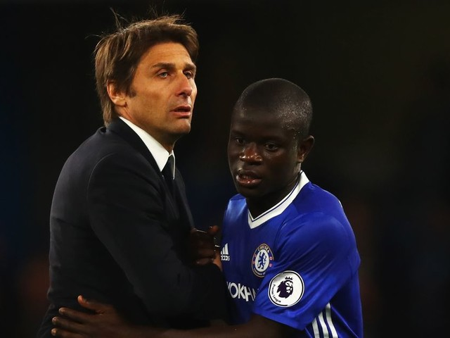 Conte taking most careful approach with N'Golo Kanté against Roma and Manchester United