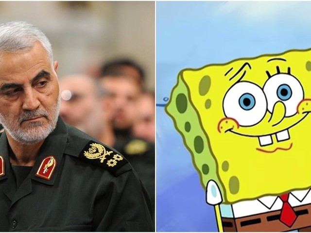 Iran can't hit back at the US over Soleimani's killing because America only has fictional heroes like 'Spiderman and Spongebob,' a prominent cleric claimed