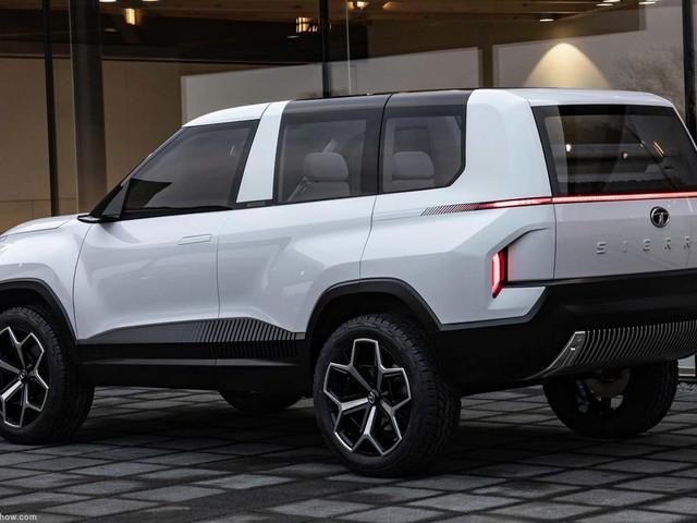 Tata Sierra Concept's Clay Models Walk Us Through Its Design Changes
