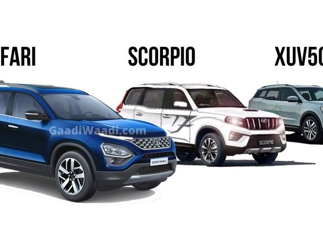 New-Gen Safari, XUV500 & Scorpio To Spice Up Sub-20 Lakh Segment