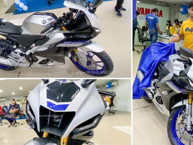 Yamaha R15 V4, R15M First Batch Delivery Starts – Walkaround, Exhaust Sound