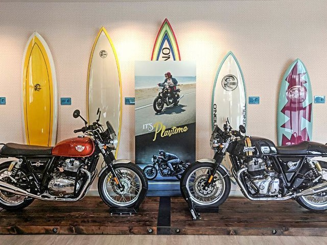 Royal Enfield 650 models to get exclusive zone in showrooms