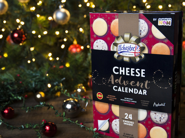 Cheese Advent Calendar Goes Mainstream After Blogger's Prototype Sparks Celebrity Interest