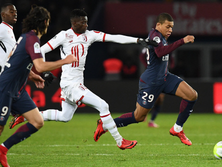PSG sink managerless Lille to halt slide