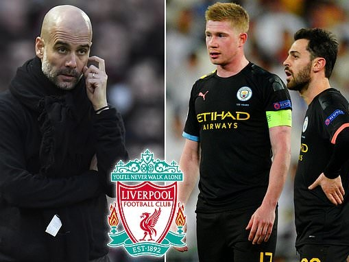 Manchester City 'shocked that Liverpool are in group of sides trying to uphold Champions League ban'