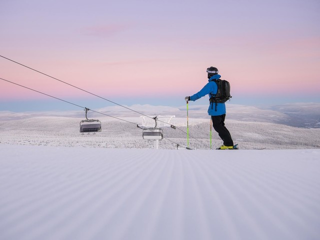 Why Sweden's new airport is Europe's best kept skiing secret