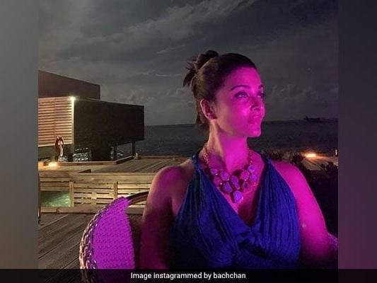 Aishwarya Looks Gorgeous In Husband Abhishek's Anniversary Special Post