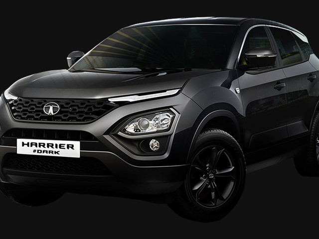 Tata Launched The Dark Edition of The Harrier