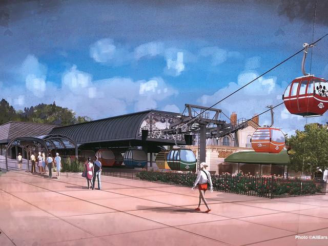 Walt Disney World's Skyliner Set to Open in Fall 2019!