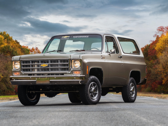 Chevrolet Performance previews eCrate package in converted 1977 K5 Blazer EV