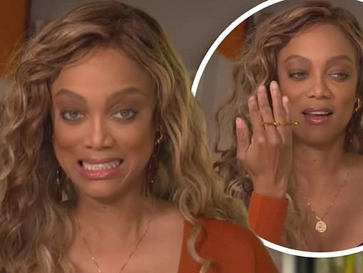 Tyra Banks shuts down engagement rumors after she was spotted out wearing a ring on THAT finger