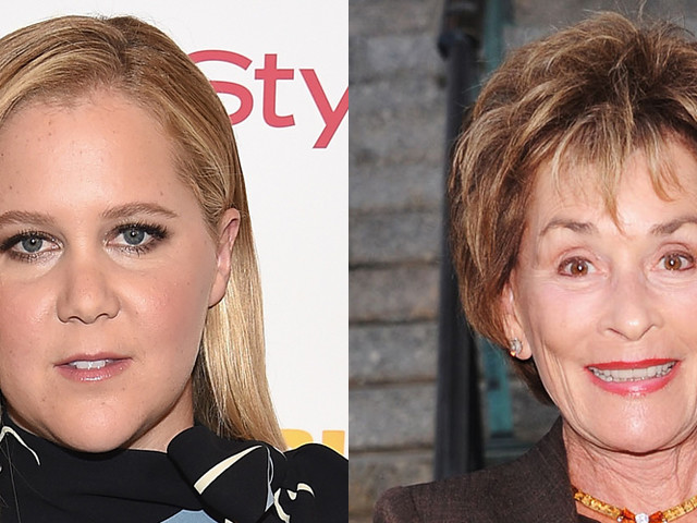 Amy Schumer Sat in Judge Judy's Courtroom & Loved It!