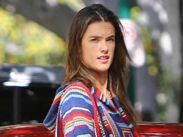 Alessandra Ambrosio Runs Errands in Santa Monica