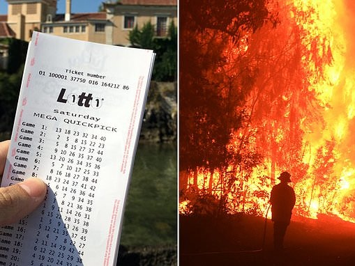 Man from bushfire-ravaged town wins $2.5million in the Lotto Super draw