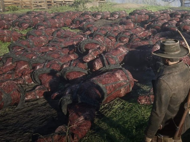 Red Dead Online players find mass grave of dead horses