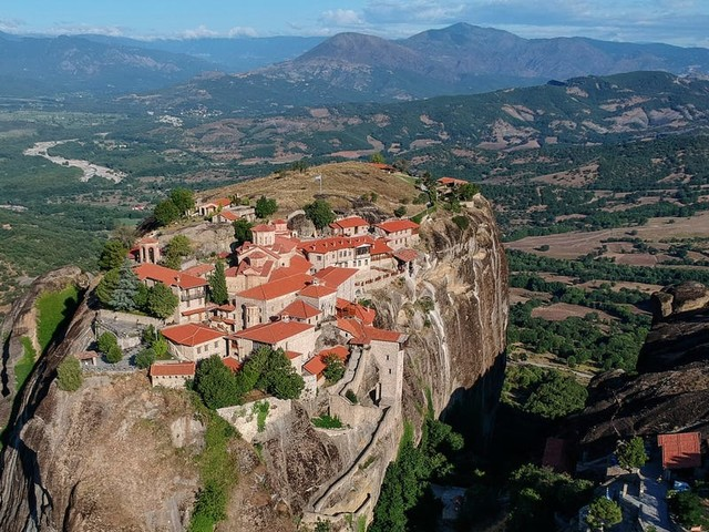 Look inside Meteora, a remote complex of monasteries built thousands of feet above the ground in Greece