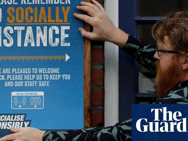 England eases lockdown: how pubs, hairdressers and restaurants will work