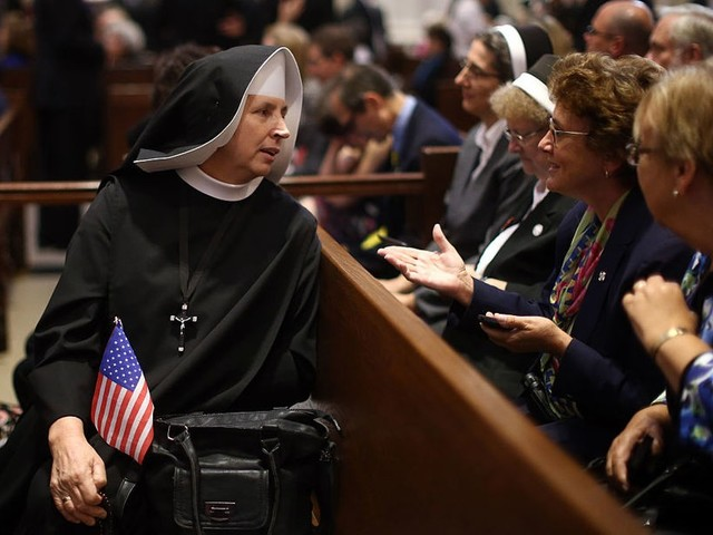 Over 7,000 Catholic nuns unite against 'immoral' GOP health care bill in a public letter to senators
