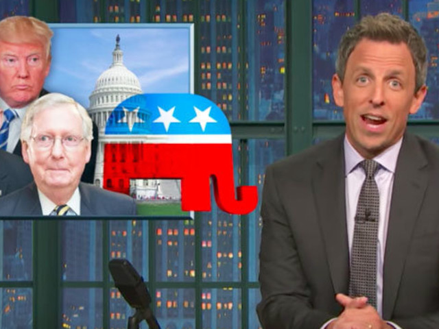 Seth Meyers Trashes 'Shameless' Republicans For 'Monstrous' Hypocrisy