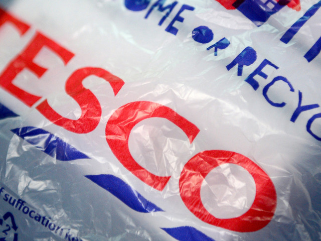 Tesco To Scrap 5p Plastic Bags Across All Stores