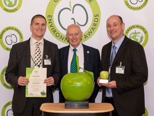 London Stansted scoops top environmental award for second year running